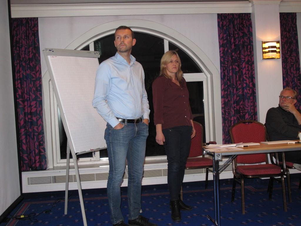 Endre Buanes og Ann-Magrit Grip